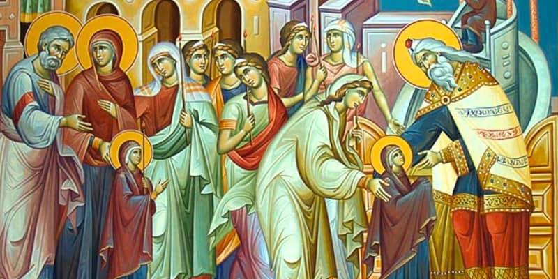 """""""والدة الإله: هيكل الربّ"""" – سلطة الليترجيا اللاهوتيّة في الأعياد المريميّة"""